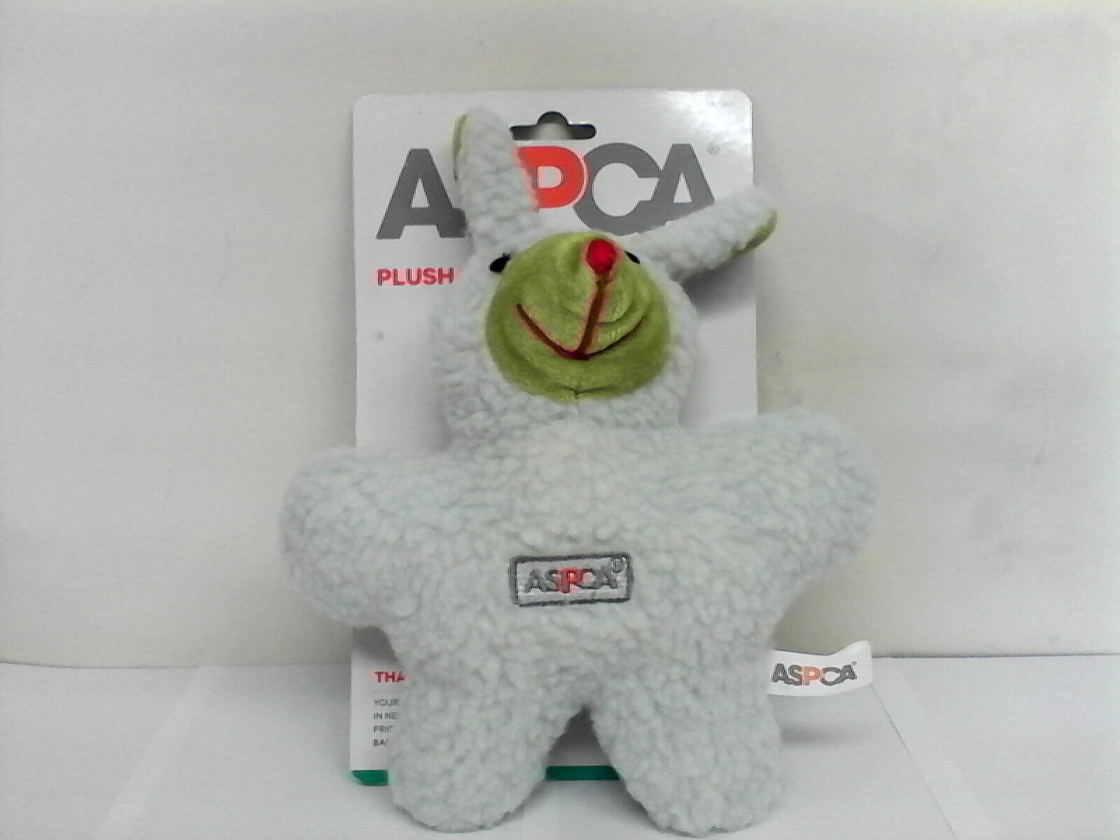 ASPCA Plush Toy with Squeaker (Dog)