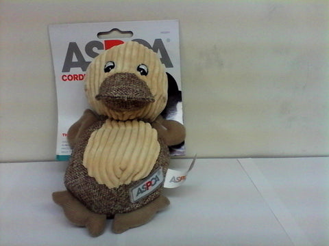 ASPCA Duck Corduroy Plush Toy