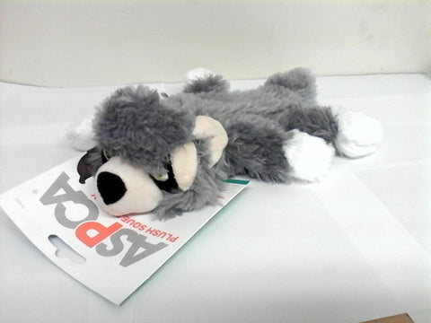 ASPCA Raccoon Plush Squeak Toy