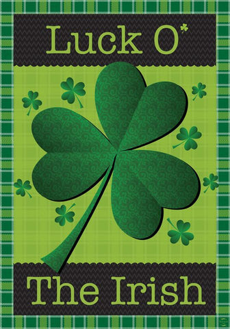 Luck 'O' The Irish Garden Flag,  #g00109
