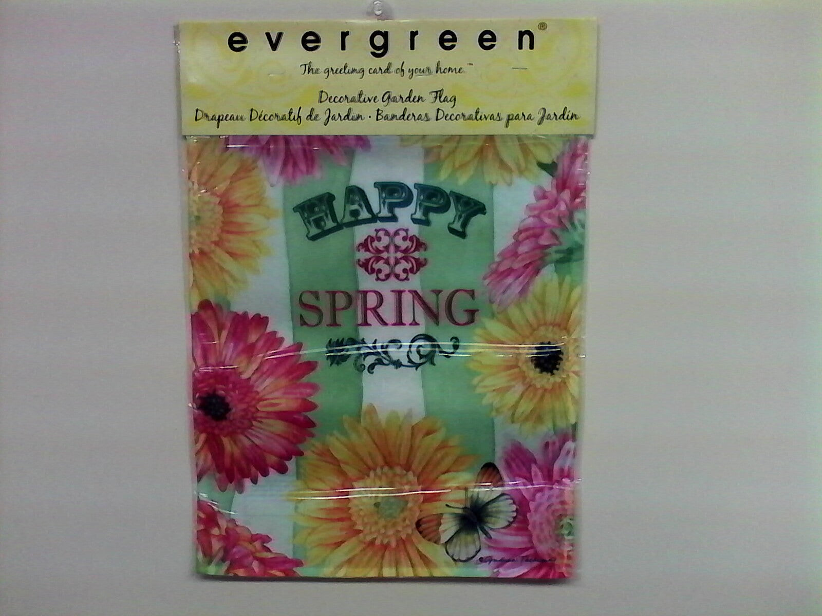 Happy Spring Daisy Garden Flag,  #zmic142446
