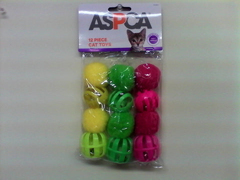 Aspca 12 piece Cat Toys