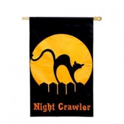 Night Crawler House Flag, #151228