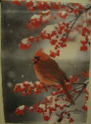 Northern Cardinal Garden Flag,  #92410