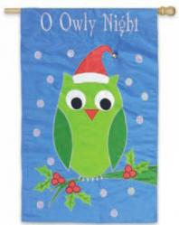 O Owly Night House Flag, #151016