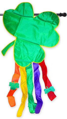 Applique Shamrock House Flag,  #1099