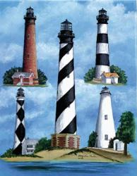 Outerbanks Lighthouse Garden Flag, #9075fm