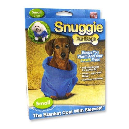 Blue Snuggie For Dogs (Small)