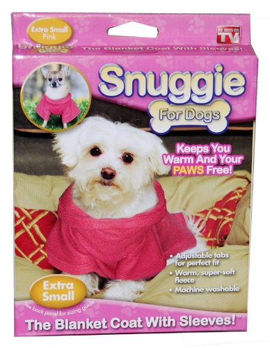 Pink Snuggie for Dogs (Extra Small)