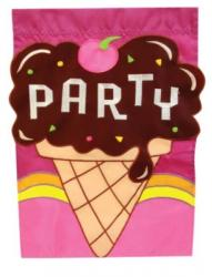 Party Ice Cream Garden Flag,  #131600