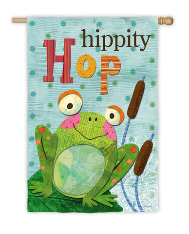Hippity Hop House Flag,  # 13S2251