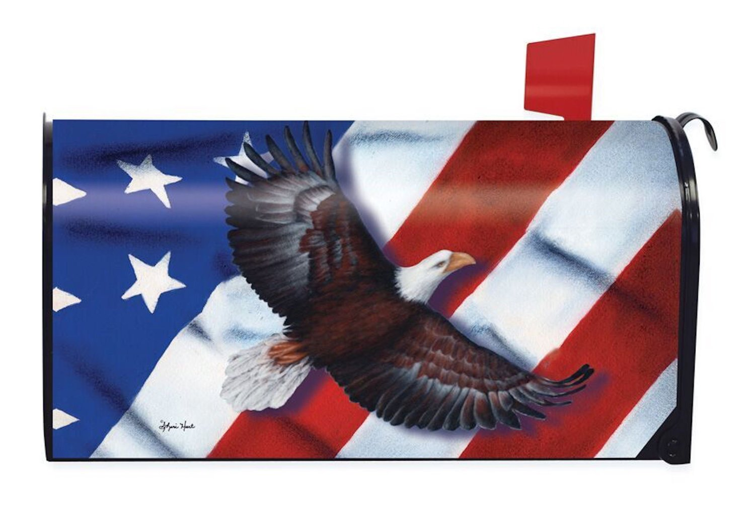 Patriotic Eagle Standard Size Mailbox Cover, #M00143