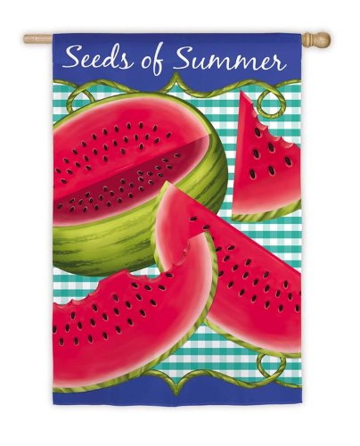 Seeds of Summer House Flag,  #131730