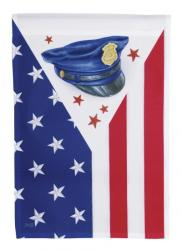 Police Officer Heroes Garden Flag,  #23789