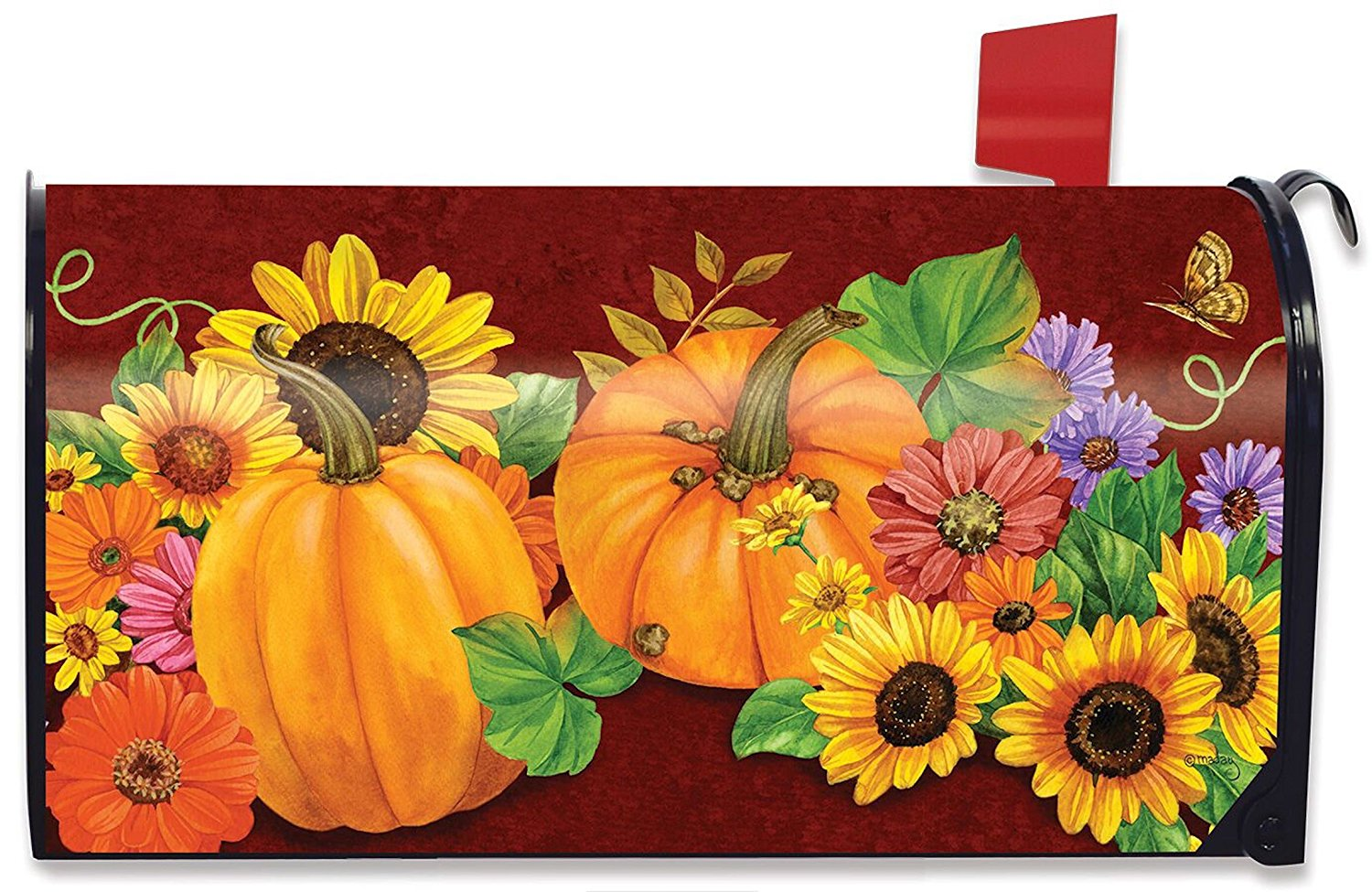 Fall Glory Standard Size Mailbox Cover, #M00052
