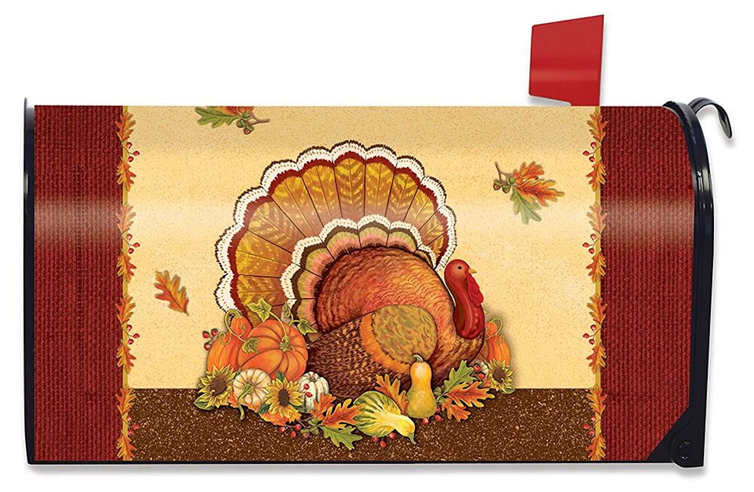 Thanksgiving Turkey Standard Size Mailbox Cover,  #M00509