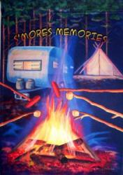 S'mores Memories House Flag, #0310FL