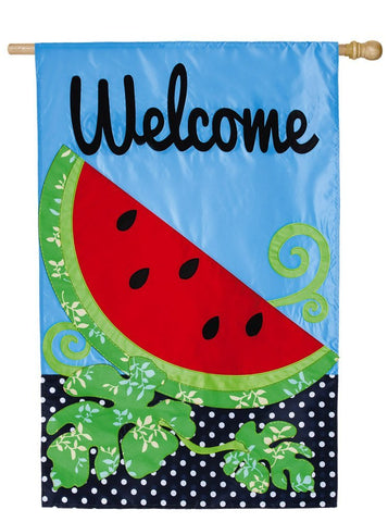 Summer Watermelon House Flag, #158503