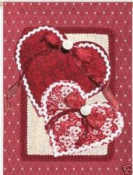 Scrapbook Valentine House Flag, #13882