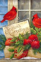 Season's Greeting House Flag, #131459