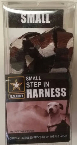 U.S Army Step-In Harness, Small, Green Camo