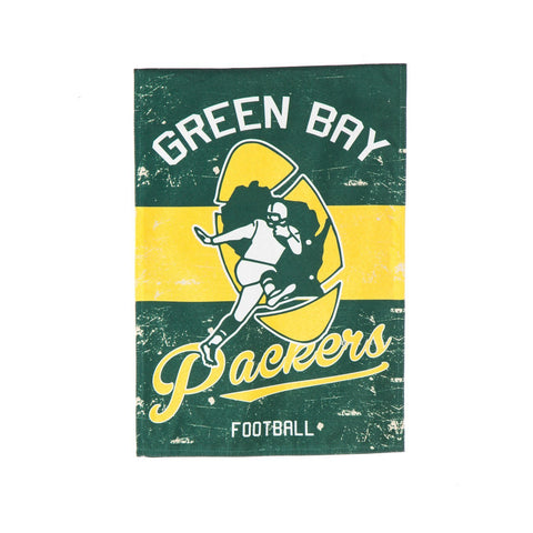 Vintage Green Bay Packers House Flag, # 13L3811VINT