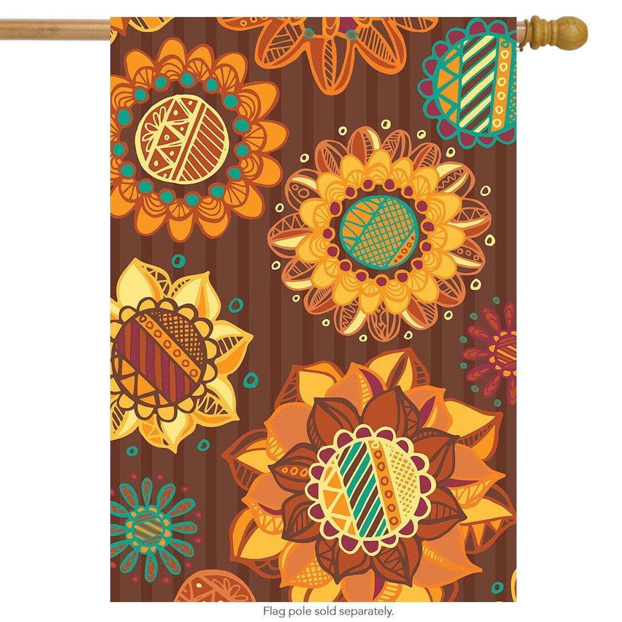Sensational Sunflowers Primitive Garden Flag, #G00504