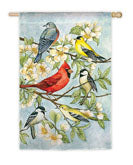 Six Birds Garden Flag,  #141276