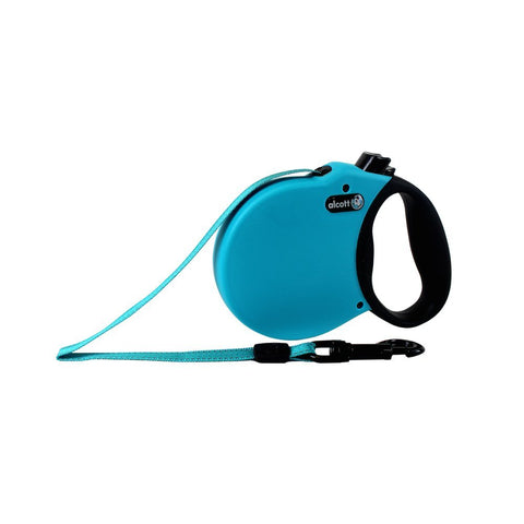 Pet Retractable Leash Blue Small