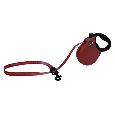 Pet Retractable Leash Red Small