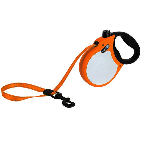 Pet Retractable Leash Neon Orange Large