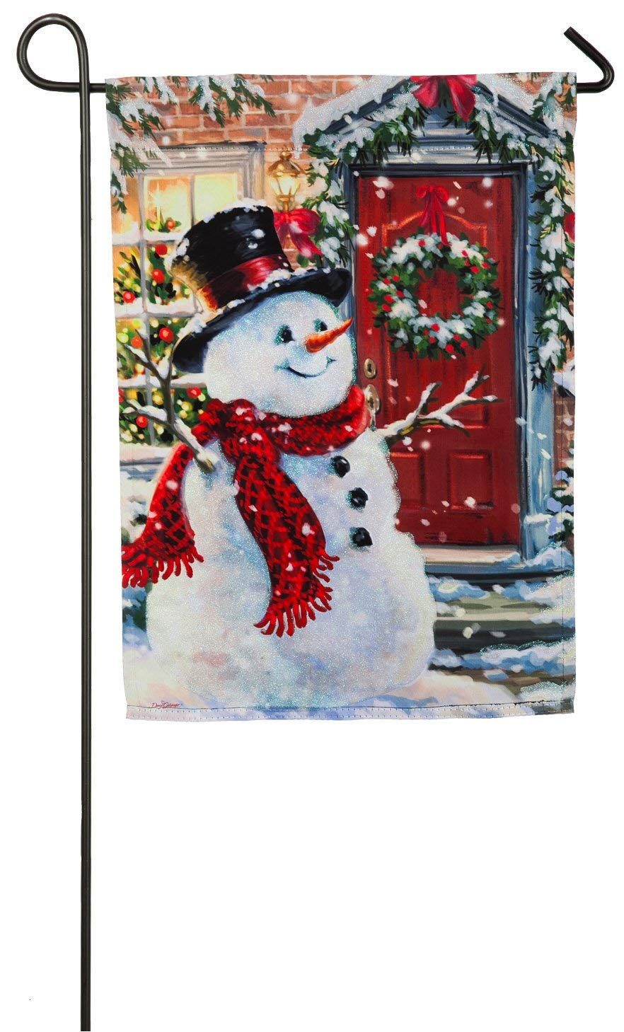 Snow Place Like Home Garden Flag, #zhd14s3908
