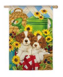 Summer Pups Garden Flag,  #141306