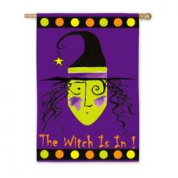 The Witch Is In! House Flag, #131021