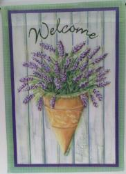 Welcome Friends Garden Flag,  #14585