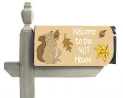 Welcome to the Nuthouse Standard Size Mailbox Cover, #56033