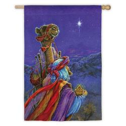 Wiseman and Companion Garden Flag,  #141857