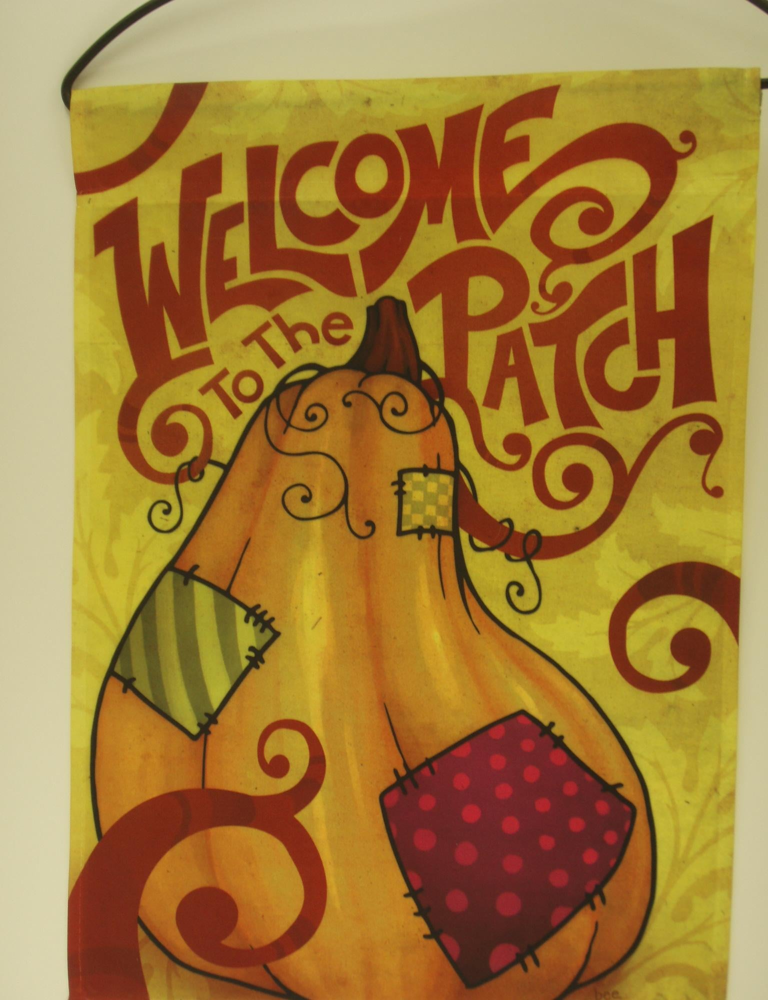 Welcome to the Patch Garden Flag,  #141144