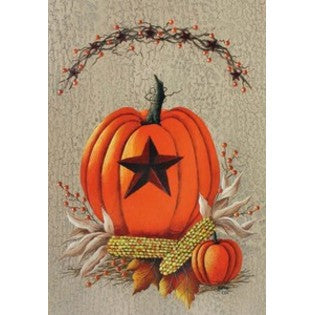 Pumpkin Berries Garden Flag, #9921FM