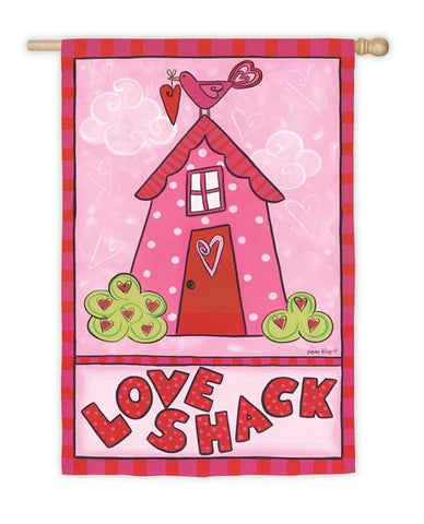 Love Shack House Flag, #131s899