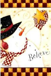 Believe Garden Flag,  #141437