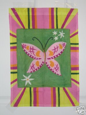 Butterfly Disco Garden Flag,  #79239