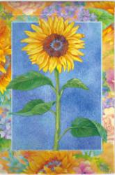 Bold Sunflower House Flag, #131608