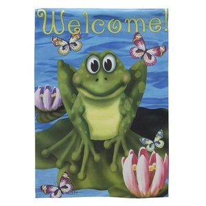 Welcome To My Pad Garden Flag, #05998 / z141671