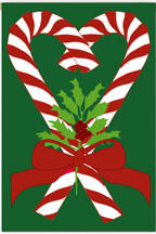 Christmas Sweetheart Garden Flag, #161056