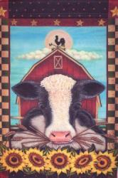 Cow House Flag, #9609fl