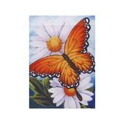 Daisies and Butterfly Garden Flag, #KLY 48005