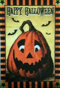 Happy Halloween Jacks Garden Flag,  #KLY1048004A