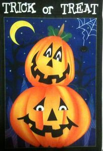 Trick Or Treat Jacks Garden Flag,  #KLY1048004