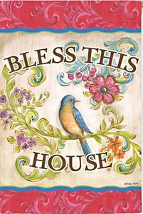 Glorious Blessings House Flag, #131s979
